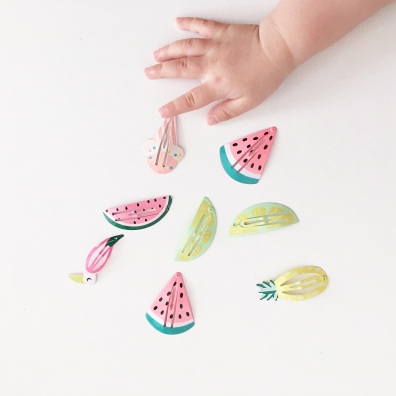 Fruit Hairclips 02