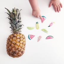 Fruit Hairclips 08