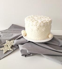 Christmas cake Snowflake 07