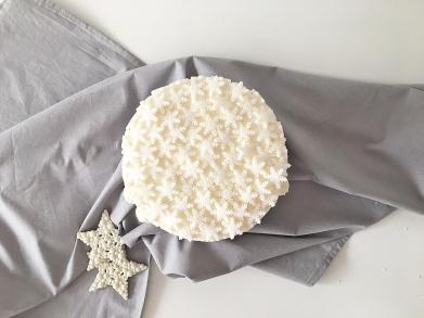 Christmas cake Snowflake 08