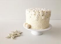 Christmas cake Snowflake 09