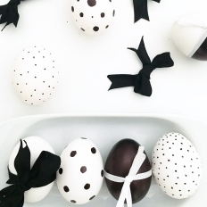 Monochrome Easter Eggs 03
