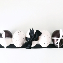 Monochrome Easter Eggs 06