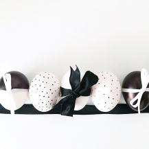 Monochrome Easter Eggs 06
