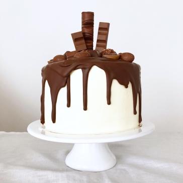 Nutella Drip Cake 03